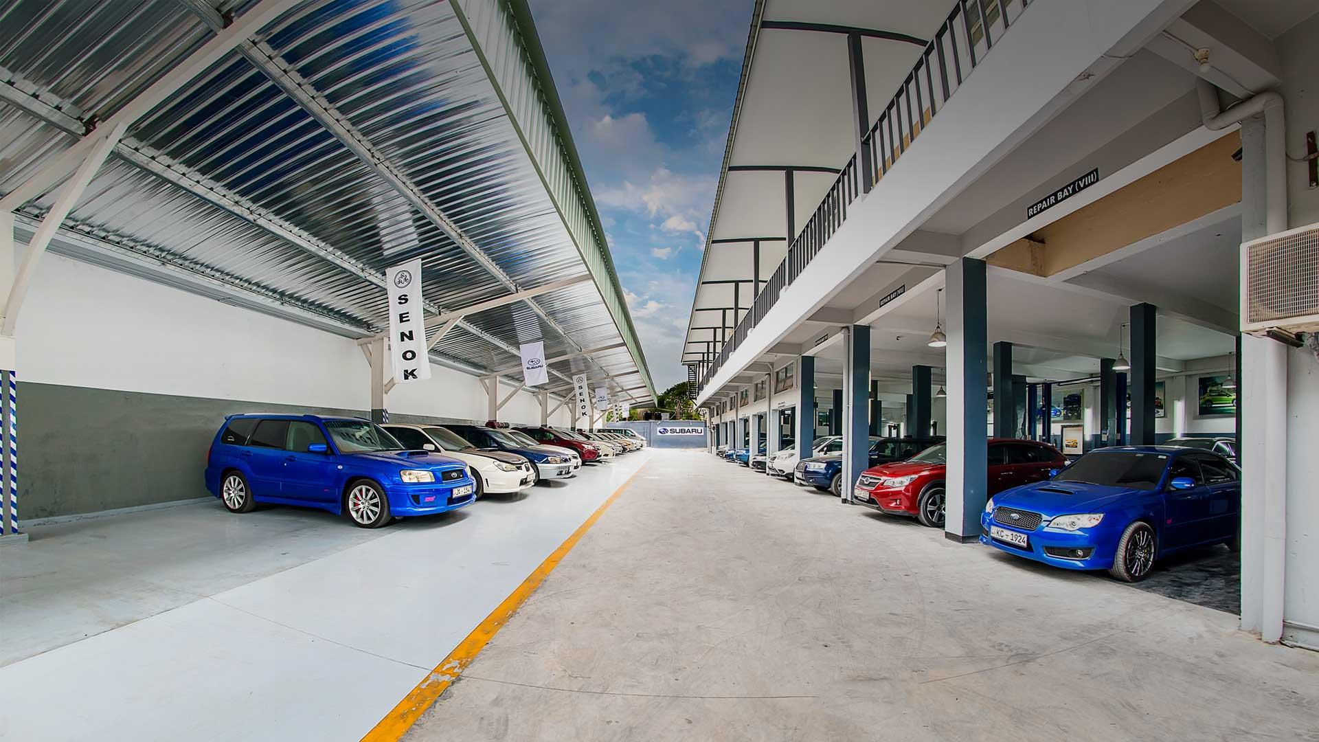 SENOK AUTOMOBILES Service Centres