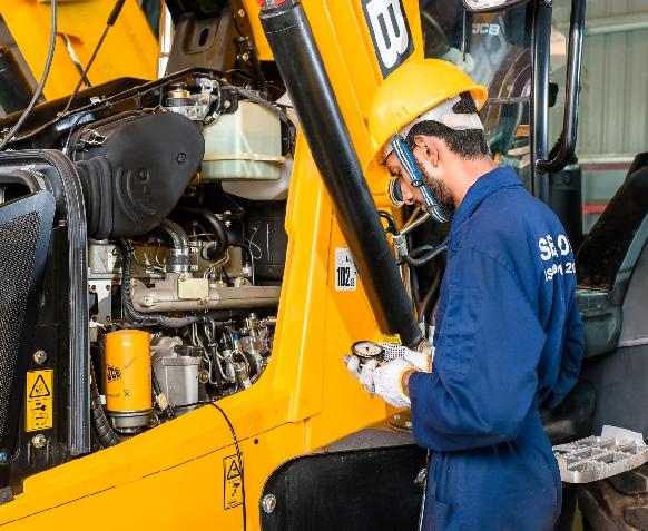 JCB machinery Repair