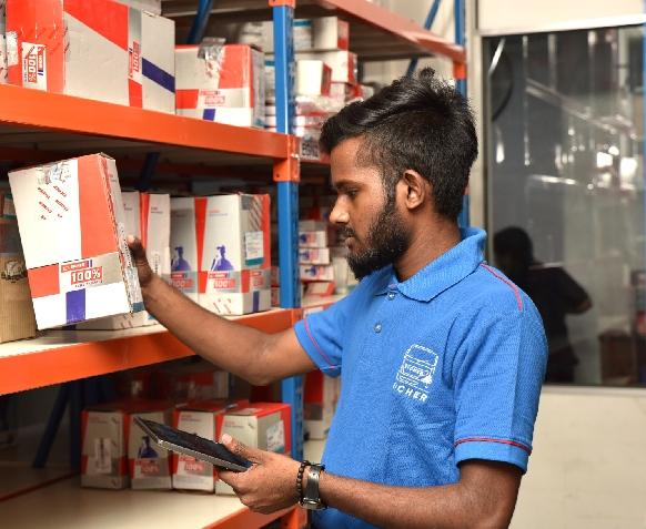 SENOK Spare Parts Division inventory management