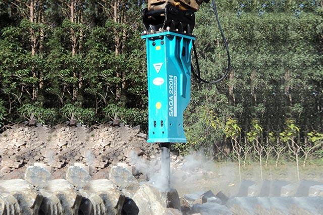 MSB SAGA220H Hydraulic Breaker (4)