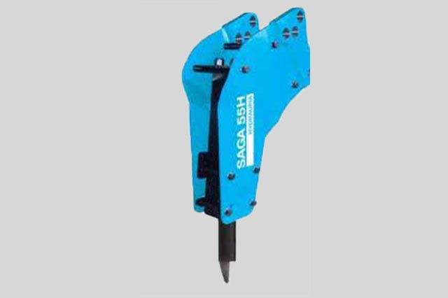 MSB SAGA Model 55H Hydraulic Hammer (1)