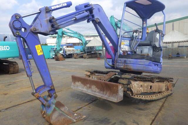 Komatsu PC30UU-3 Used Mini Excavator