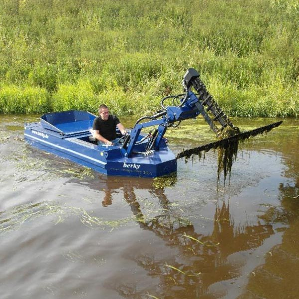 BERKY MOWING & GARBAGE COLLECTION BOATS