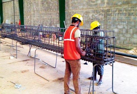 SENOK - Precast Concrete Installation