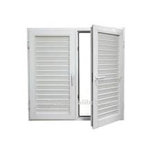 Casement Door with Two Louver Sashes (D3)