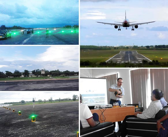Solar Powered Runway Lighting Solutions