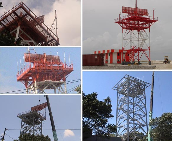 Secondary Surveillance Radar and Weather Observation System