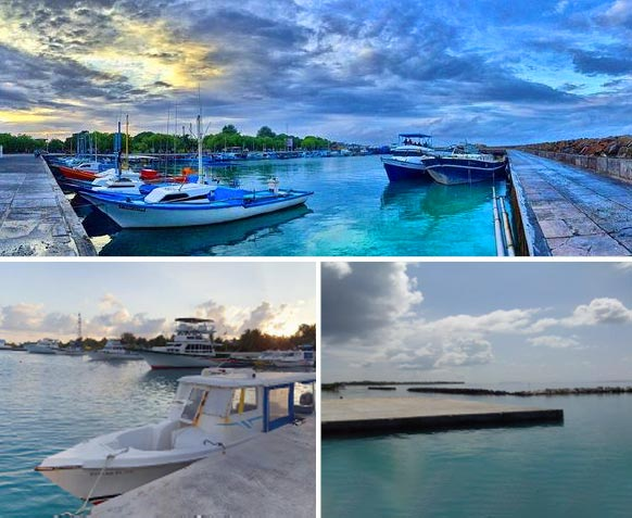 Construction of Fisheries Harbours in Gadhdhoo & Kinbidhoo