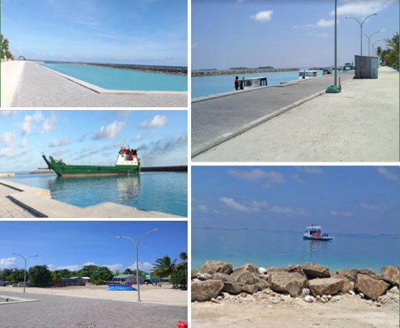 Construction of Maaimboodhoo harbour