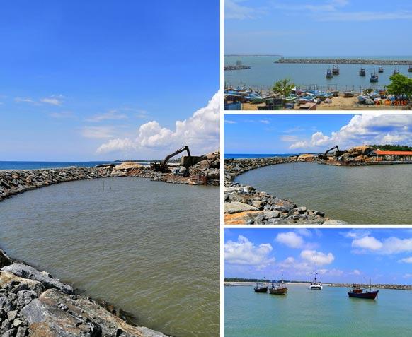 Kalametiya Fisheries Harbour, Hambantota, Sri Lanka